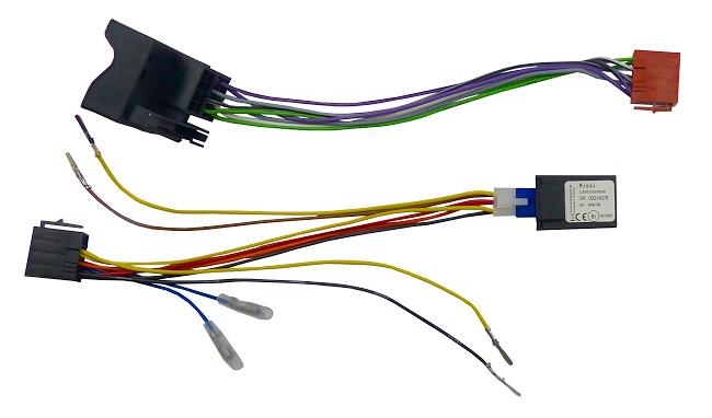 Konektor ISO VW, Opel  2002-MOST s Can-Bus adaptérem