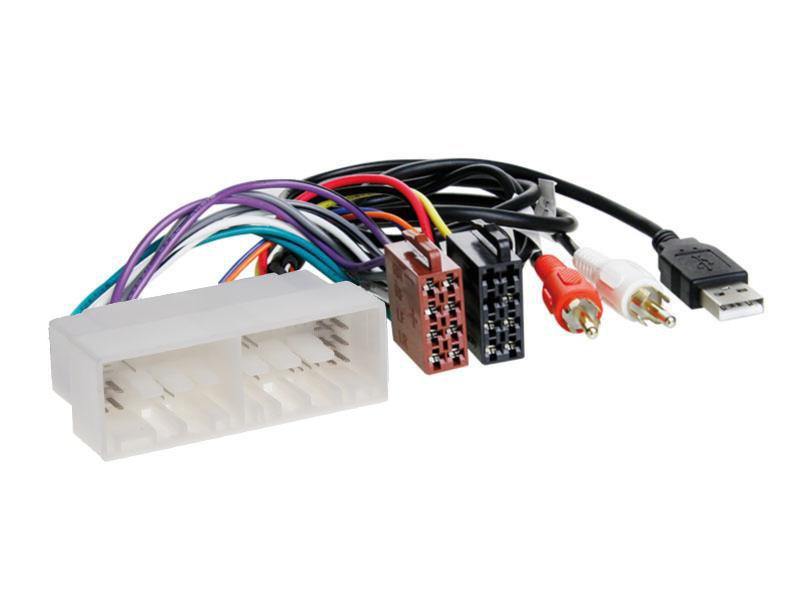 Konektor ISO Hyundai/Kia 2017- + USB & AUX konektor