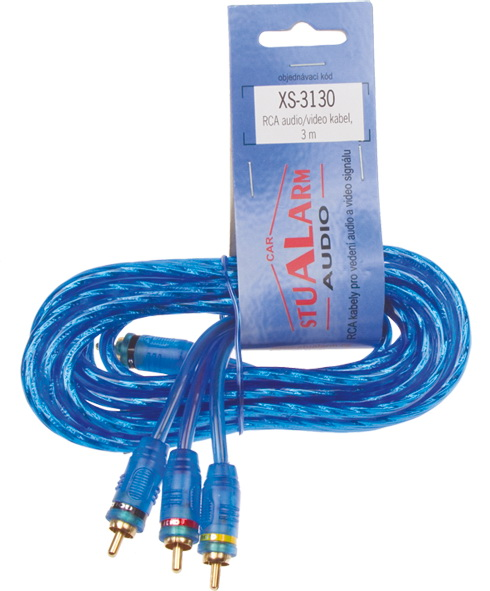 RCA audio/video kabel Hi-Q line, 3m