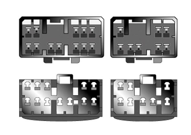 Kabeláž pro HF PARROT/OEM Mazda všechny modely -2000