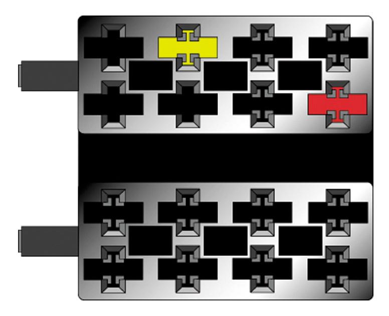 x Tel-mute UNI pro přenos zvuku z HF do repro