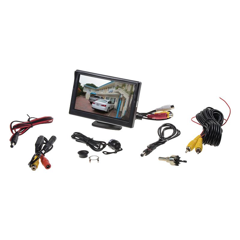 Parkovací kamera s LCD 5