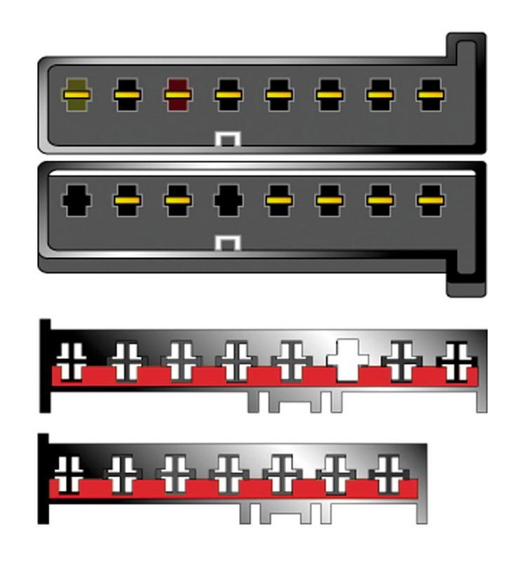 Kabeláž pro HF PARROT/OEM FORD (7+8pól), Mazda