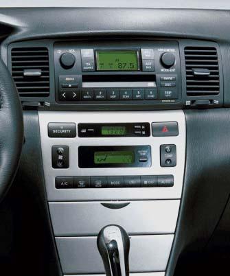 ISO redukce pro Toyota Corolla 01/2002-2007