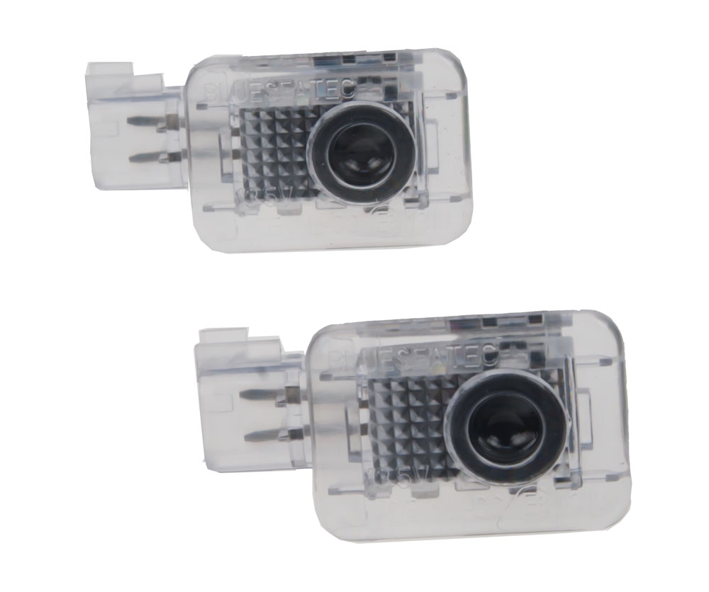 x LED logo projektor pro vozy Volvo S60, S80, V70, XC70 integrován v osvětlení dveří