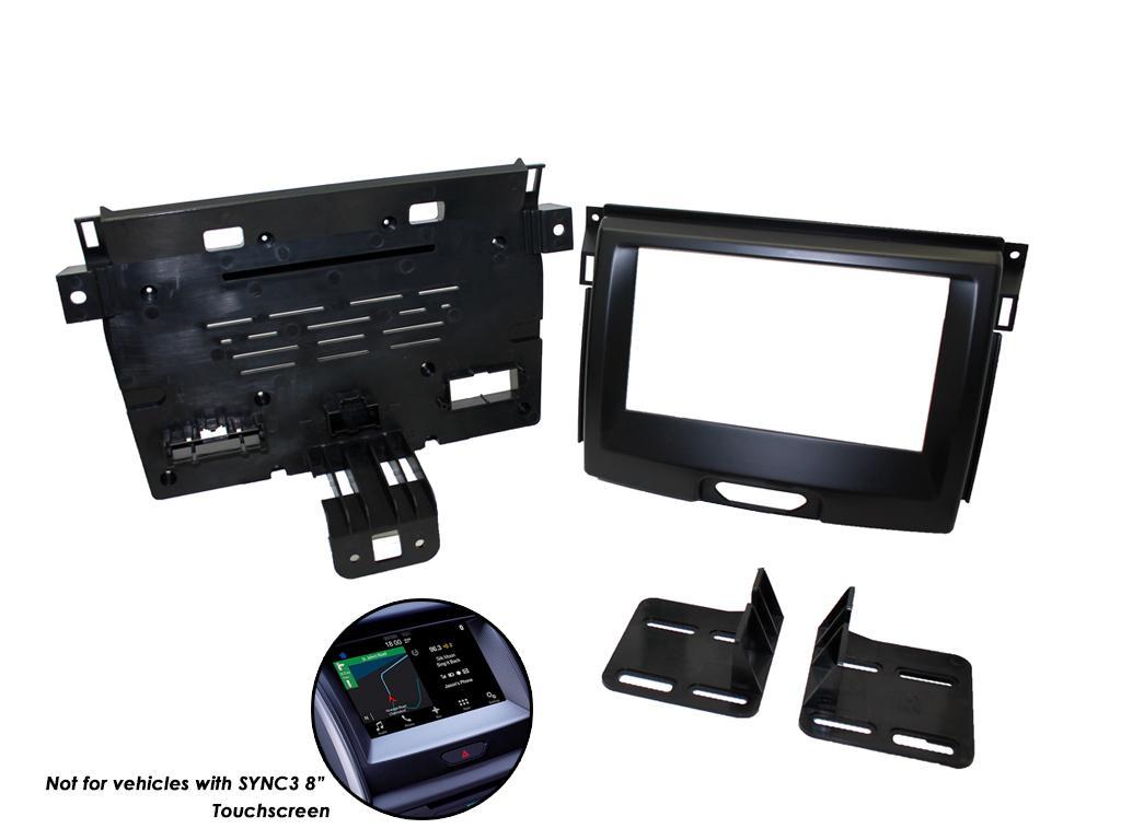 2DIN redukce pro Ford Ranger 2015-, Everest 2015-