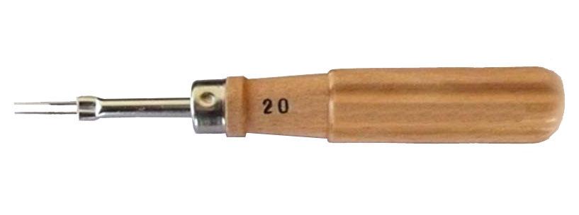 Nástroj pro vyjímání pinů z Molex konektoru