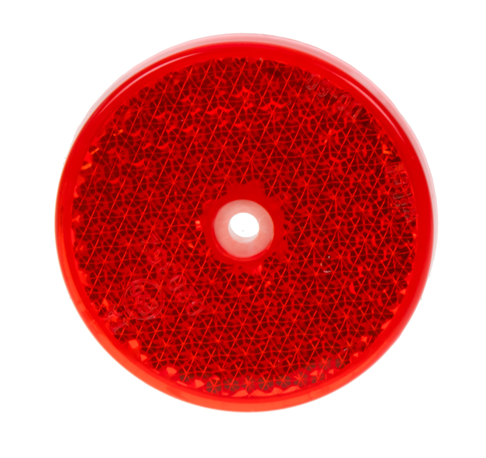 Zadní (červený) odrazový element - kolečko pr.60mm