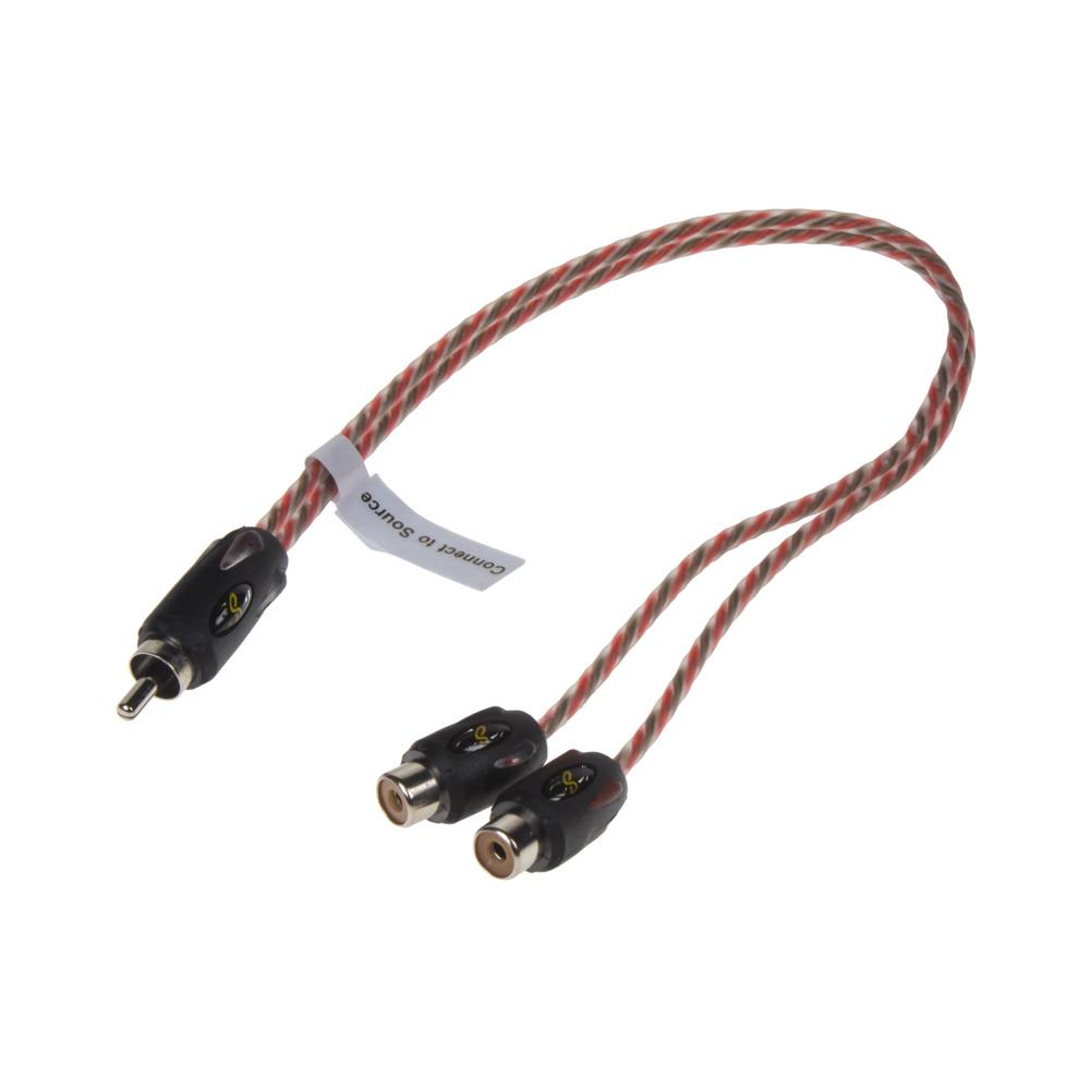 Stinger CINCH Y kabel 1x samec, 2x samice