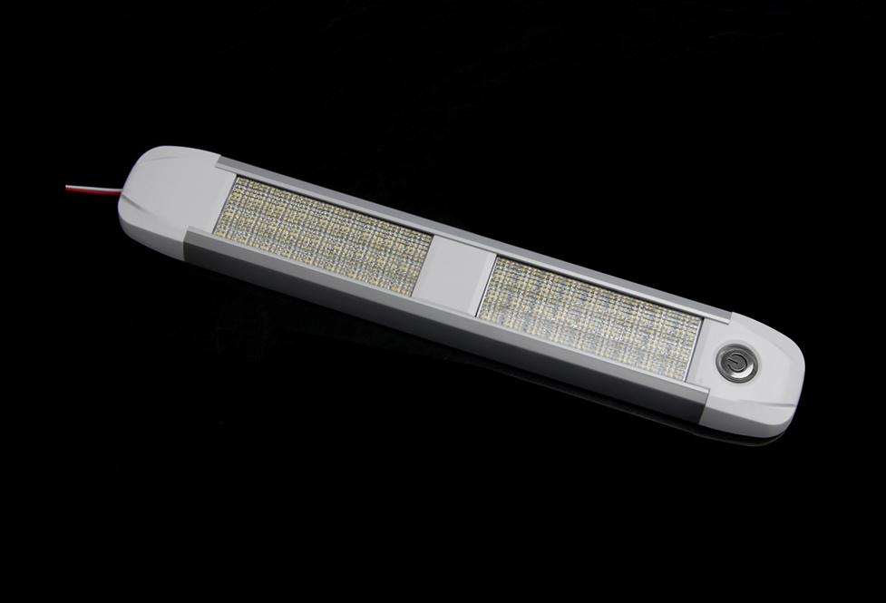 LED osvětlení interiéru univerzální 12-24V 36LED, ECE R10