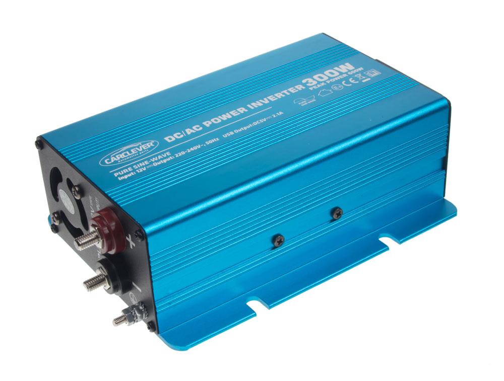 Sinusový měnič napětí z 24/230V, 300W