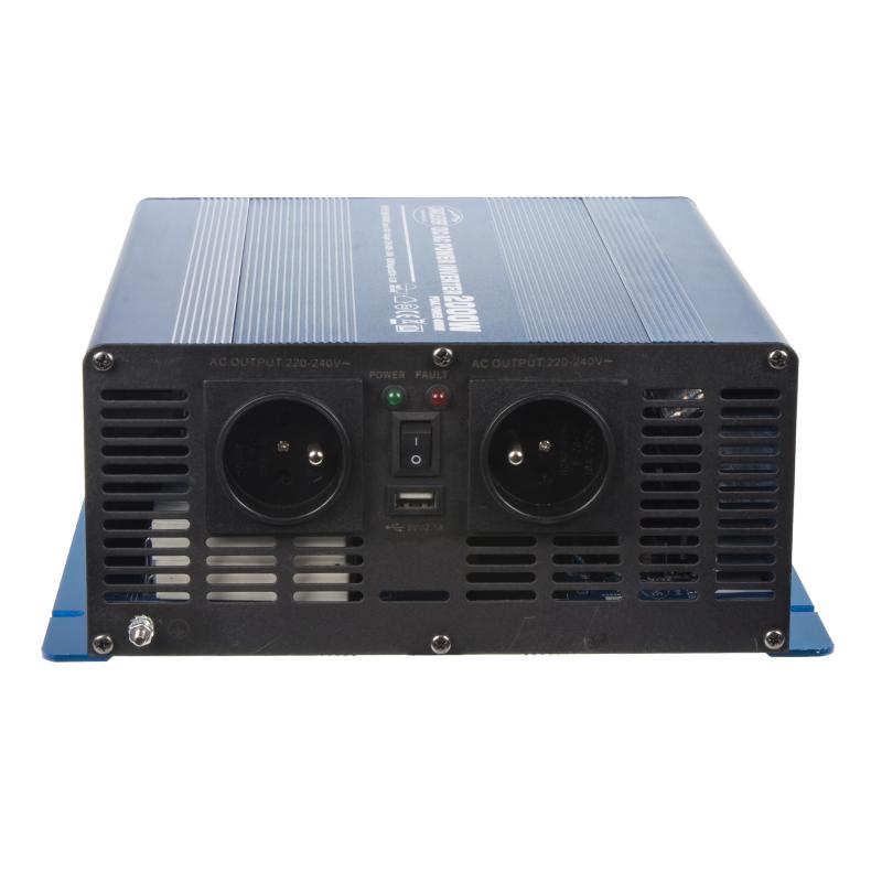 Sinusový měnič napětí z 24/230V, 2000W
