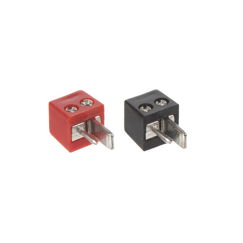 Reproduktorový konektor DIN se šroubky (pár)