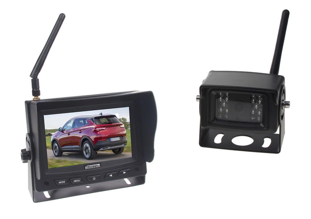 SET bezdrátový digitální kamerový systém / 1 x 4pin s monitorem 5