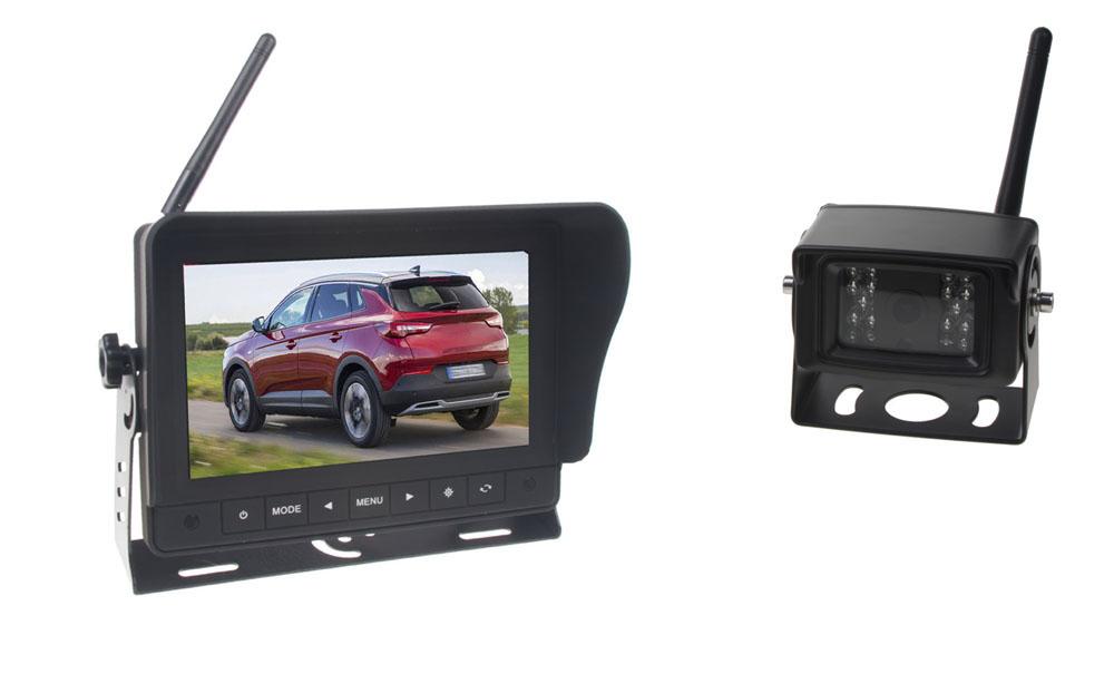 SET bezdrátový digitální kamerový systém / 1 x 4pin s monitorem 7