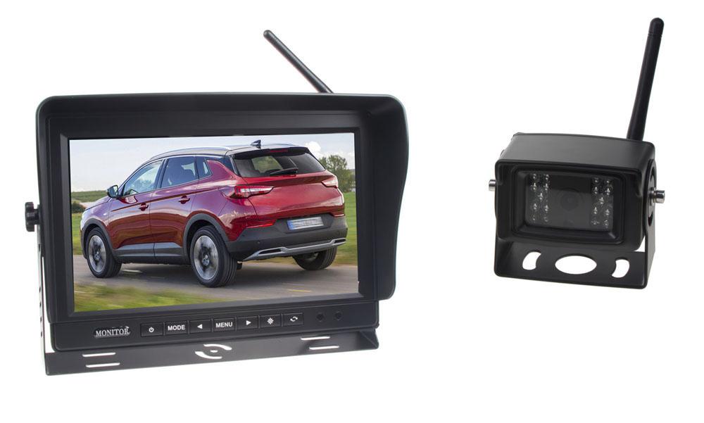 SET bezdrátový digitální kamerový systém / 1 x 4pin s monitorem 10,1