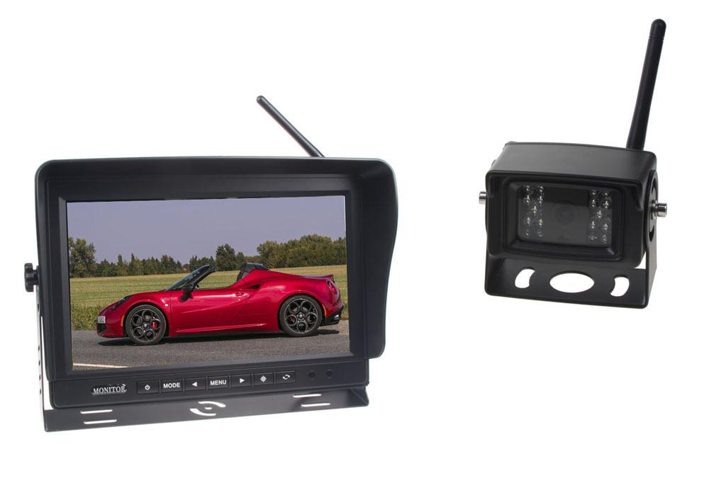 SET bezdrátový digitální kamerový systém / 1 x 4pin s monitorem 9