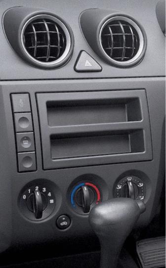 ISO redukce pro Ford Fiesta 11/2001-09/2005, Fusion 2002-09/2005