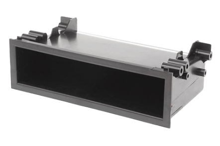 Univerzální plastová přihrádka do otvoru DIN, hloubka 98mm