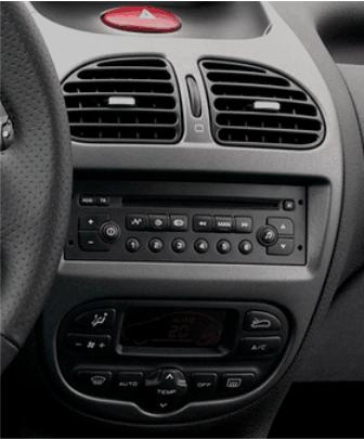 ISO redukce pro Peugeot 206 1998-2007