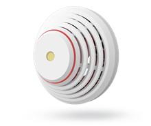 Kombinovaný detektor kouře a teplot bezdrátový