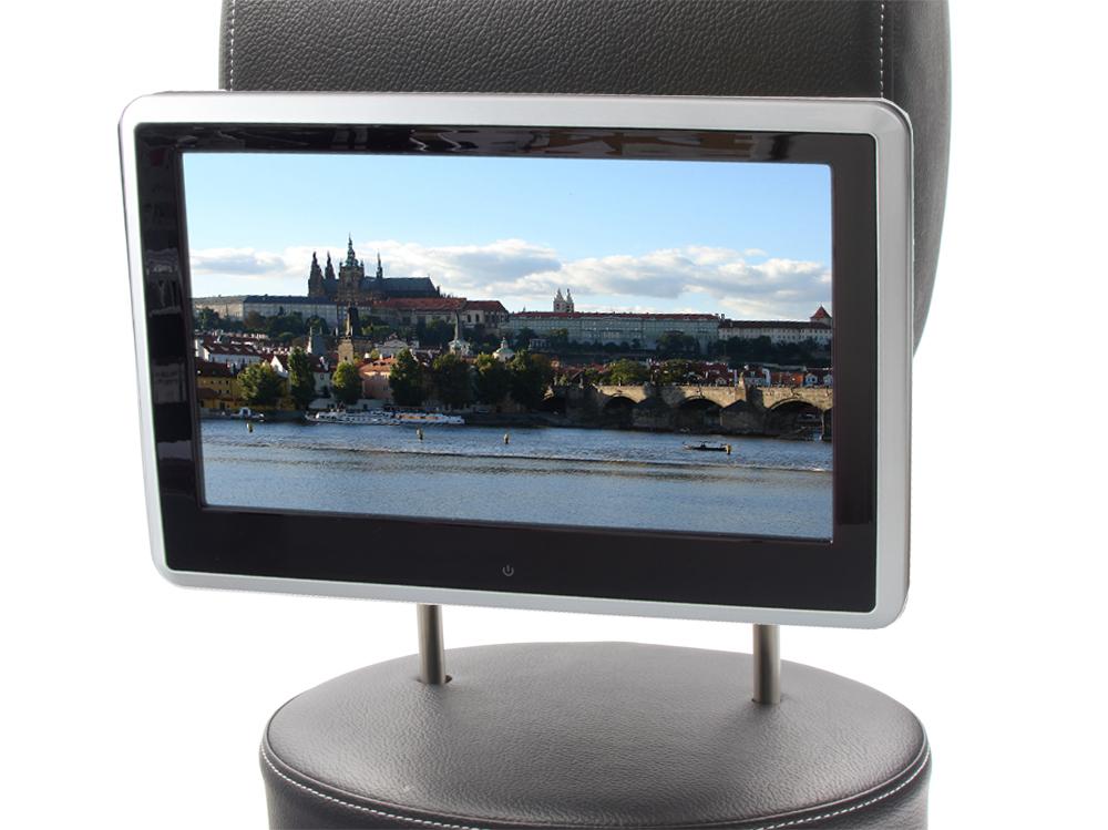 """SD/USB/HDMI monitor 10,1"""" s držákem na opěrku, dotyk. obrazovka, české menu"""