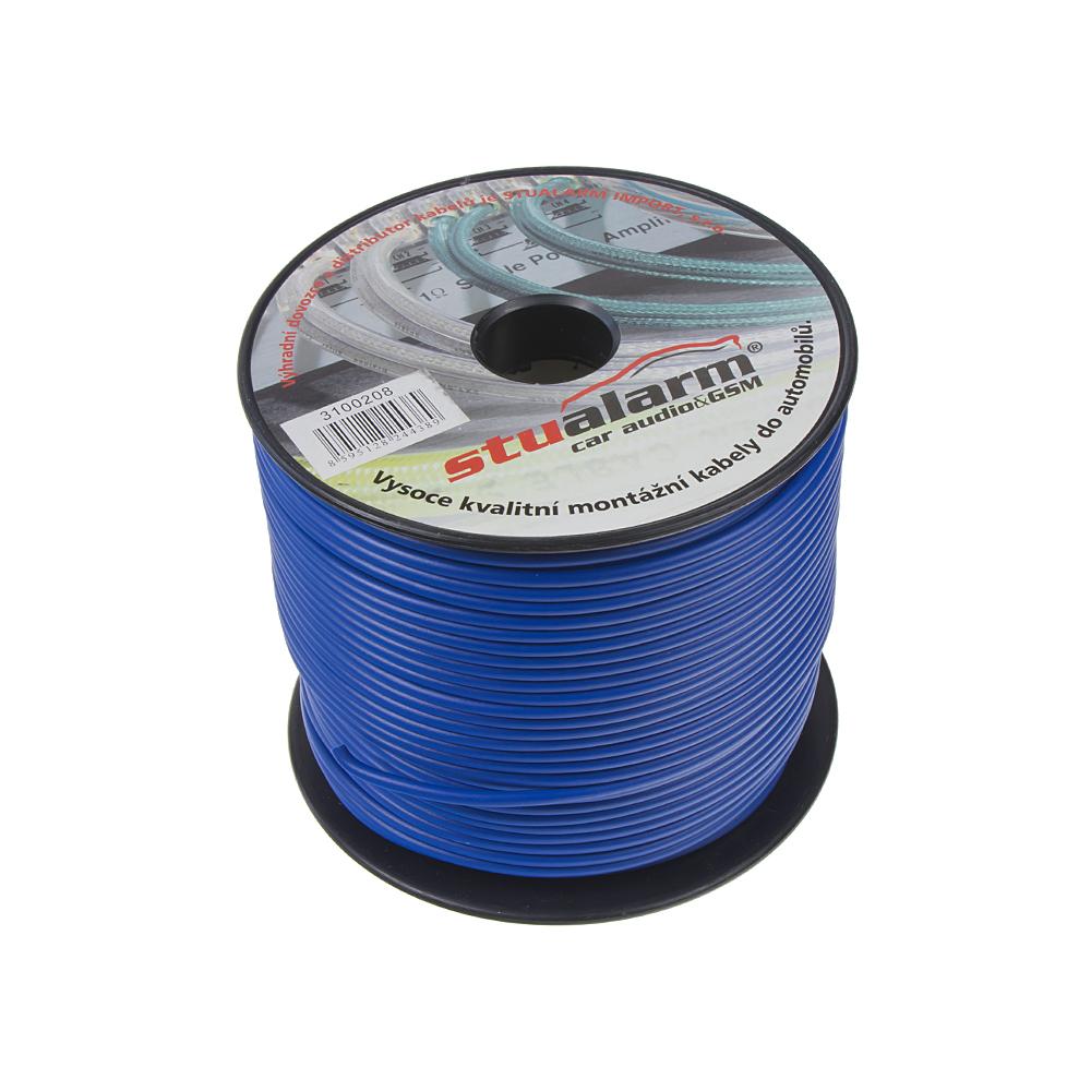 Kabel 1,5 mm, modrý, 100 m bal