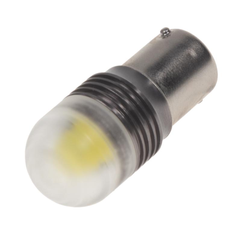 LED BA15s bílá, 12V, LED 1x3D 9W