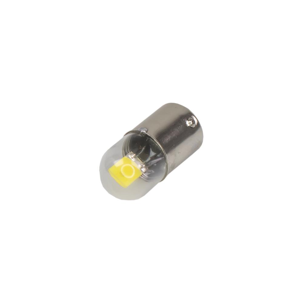 LED BA15s bílá, 12V, 6LED/5630SMD