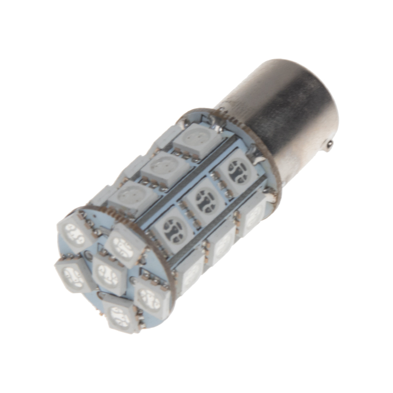 LED BAU15s oranžová, 12V, 27LED/3SMD
