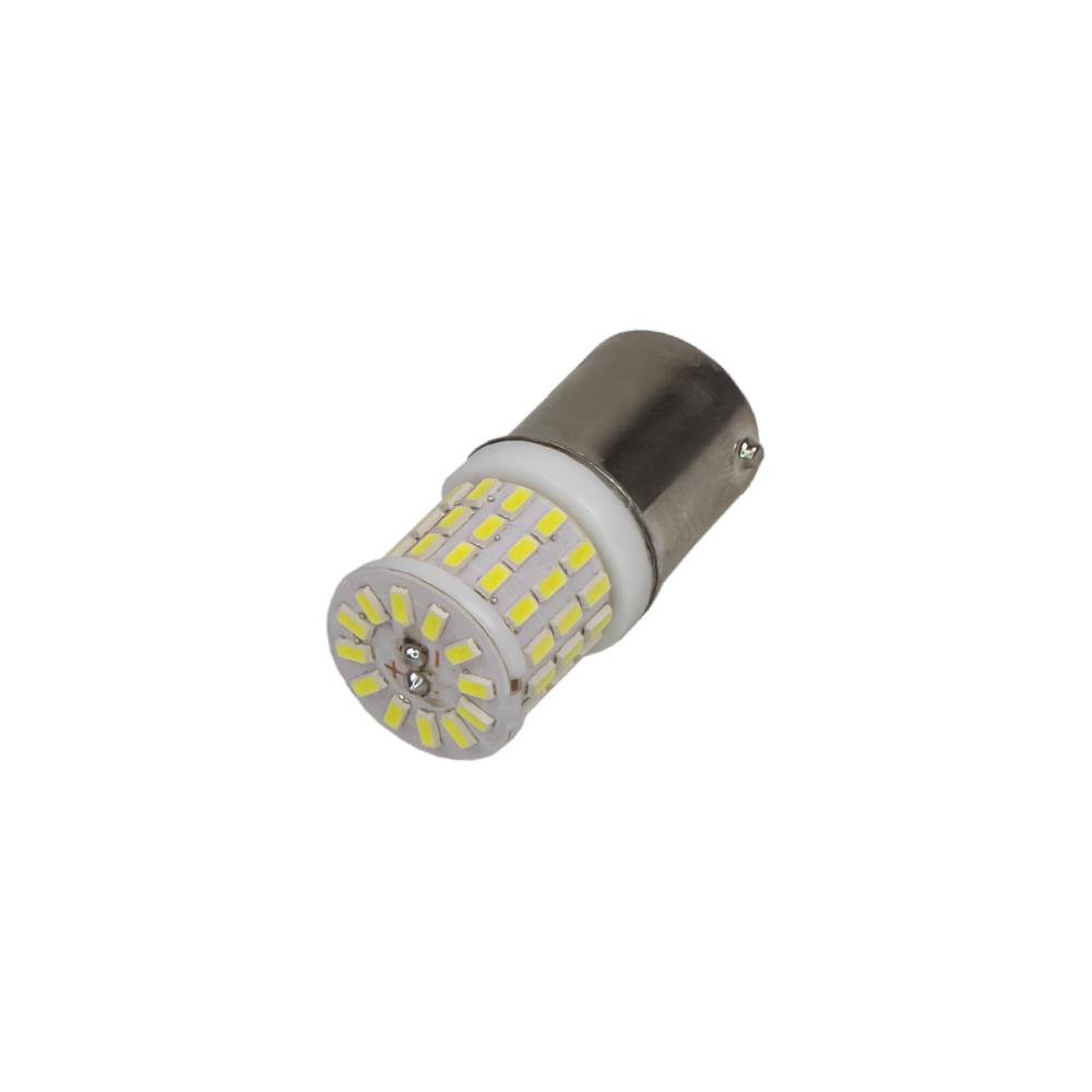 x LED BAU15s bílá, 12V, 9LED/3SMD