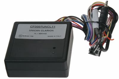 UNI adaptér CAN-Bus/ovládání Clarion + rychl., 15, osv., zpát.