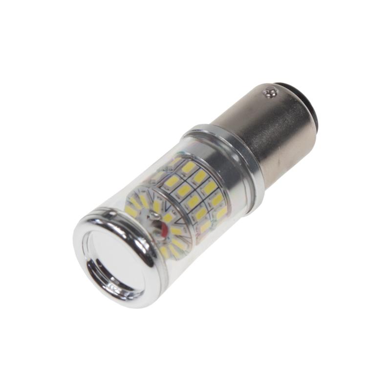 TURBO LED 12-24V s paticí BAY15D, 48W bílá