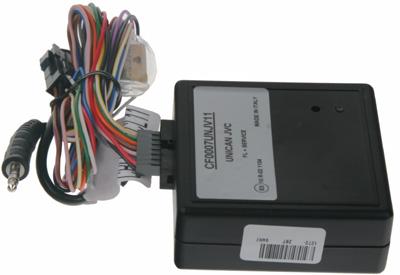 UNI adaptér CAN-Bus/ovládání JVC + rychl., 15, osv., zpát.