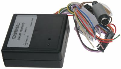 UNI adaptér CAN-Bus/ovládání Kenwood + rychl., 15, osv., zpát.