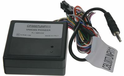 UNI adaptér CAN-Bus/ovládání Pioneer + rychl., 15, osv., zpát.