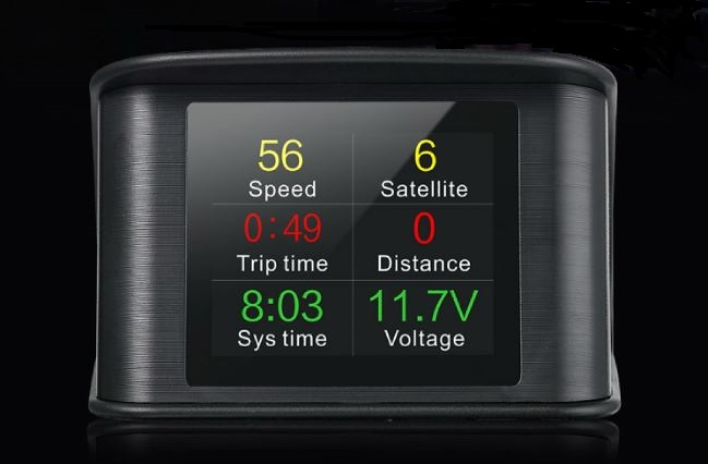"Palubní DISPLEJ  2,6"" LCD, GPS"