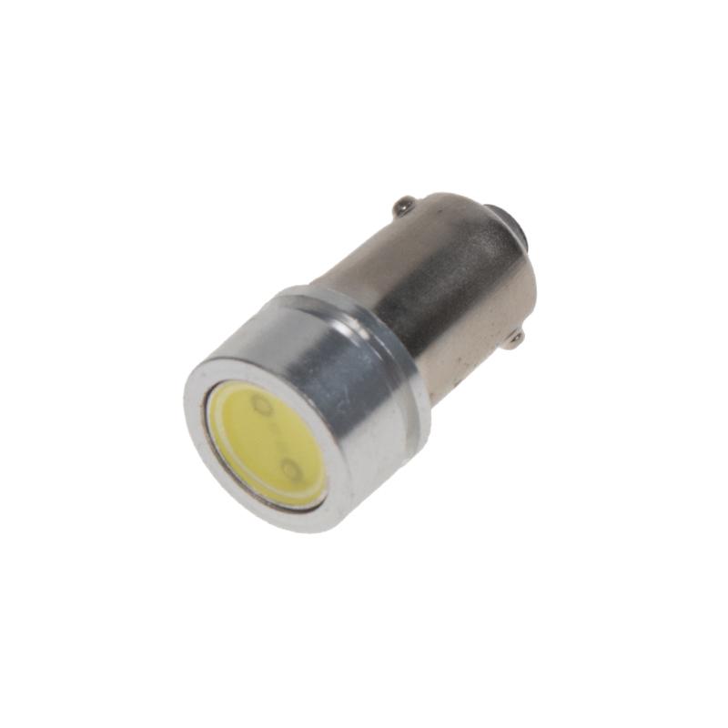 LED BA9s bílá, 12V, 1LED/1W superradio