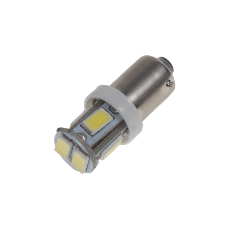 LED BA9s bílá, 12V, 6LED/5730SMD