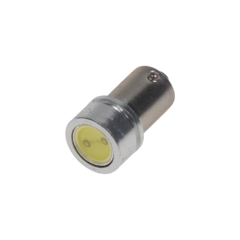 x LED BAX9s bílá, 12V, 2LED/0,5W superradio