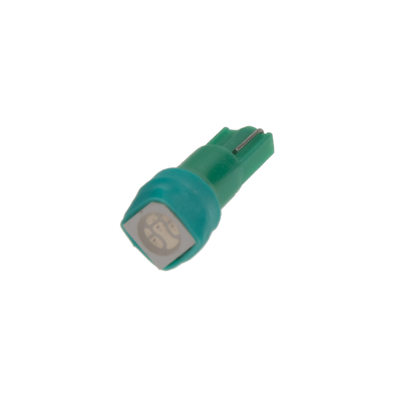 LED T5 zelená, 12V, 1LED/3SMD