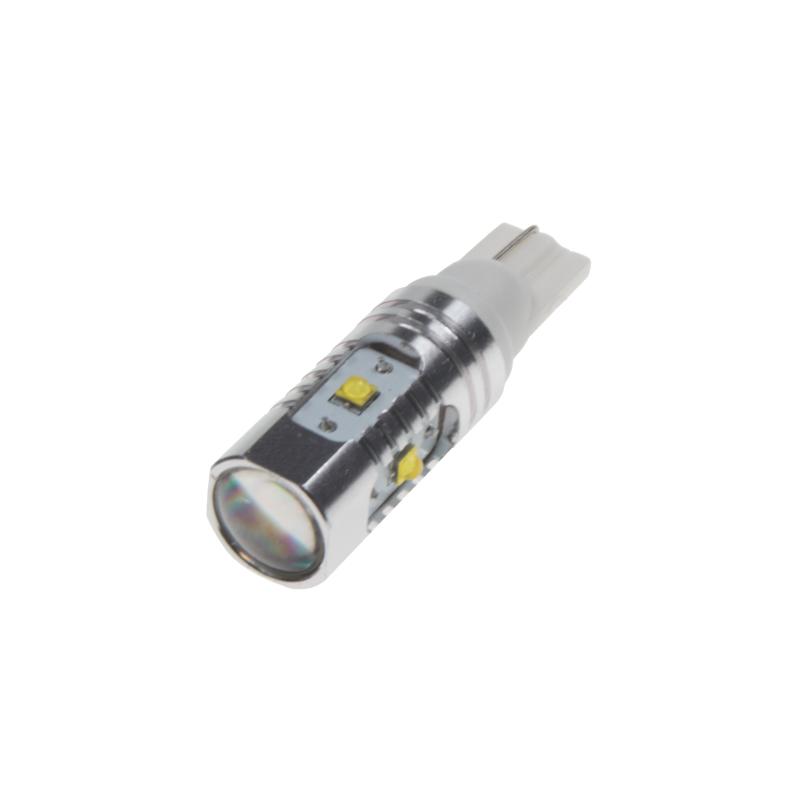 CREE LED T10 bílá, 12-24V, 25W (5x5W)